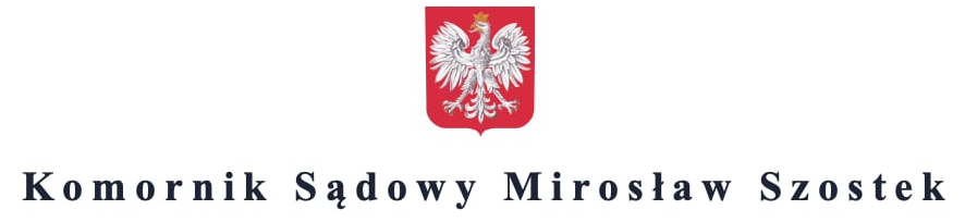 Komornik Sądowy Mirosław Szostek